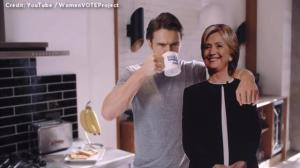 James Franco endorses Hillary Clinton with spoof of 'Most Interesting Man in the World' ad